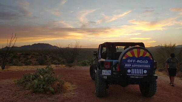 Jeep Tour with Off-Road Jeep Adventures