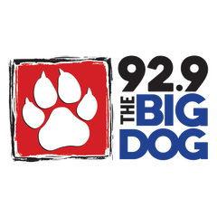 92.9 The Big Dog logo