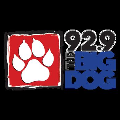 92.9 The Big Dog logo
