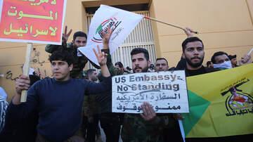 National News - Militiamen Breach US Embassy Compound In Baghdad; Trump Blames Iran