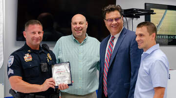 iHeartMedia & Freeman Injury Law First Responder Salute - Sergeant Brian Gellin - September 2018