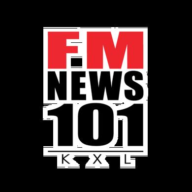 FM News 101 KXL logo