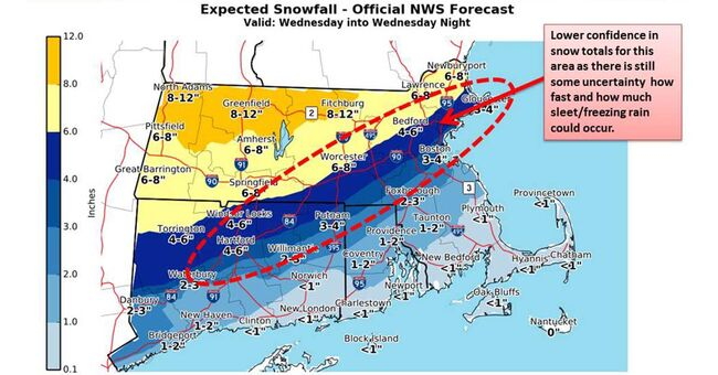 national weather service winter snow feb 7