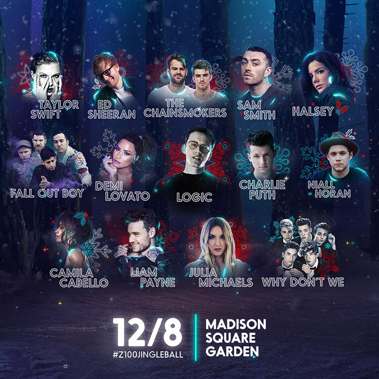 Z100's Jingle Ball 2017 Lineup