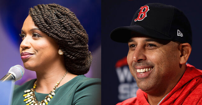 ayanna pressley alex cora bostonians of the year