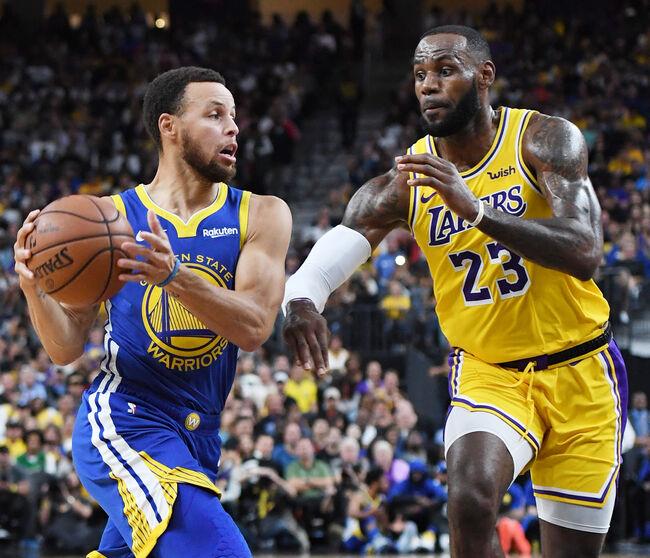 Warriors Lakers NBA Lebron James Curry