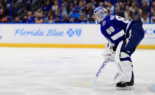 Tampa Bay Lightning Anderi Vasilevskiy