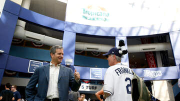 In The Zone - This is not a staged exit. Rays Owner Stuart Sternberg on Montreal Move