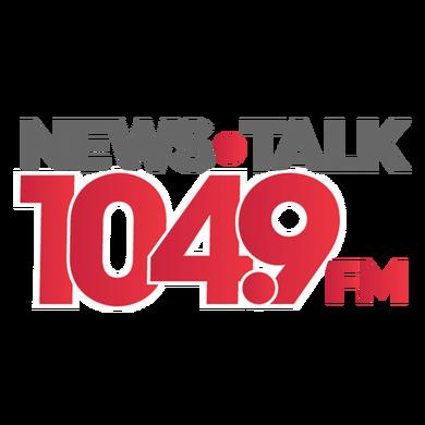 News Talk 104.9 logo