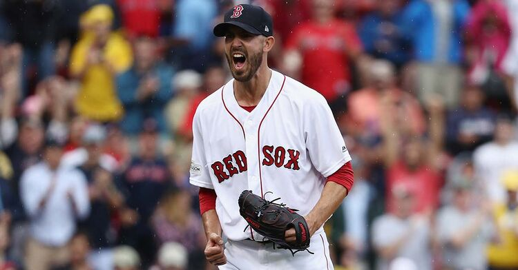 Rick Porcello Boston Red Sox MLB baseball pitcher