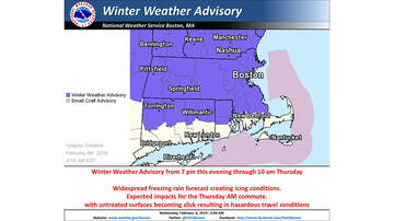Storm Center - Freezing Rain Coming Overnight; Winter Weather Advisory In Place
