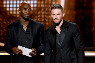 WATCH: Patriots' Edelman, McCourty Present Award To Lady Gaga At Grammys