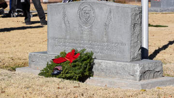Mike Rivera - Wreaths Across America paused a moment to remember those who served