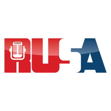 RUSA Russian American Radio logo