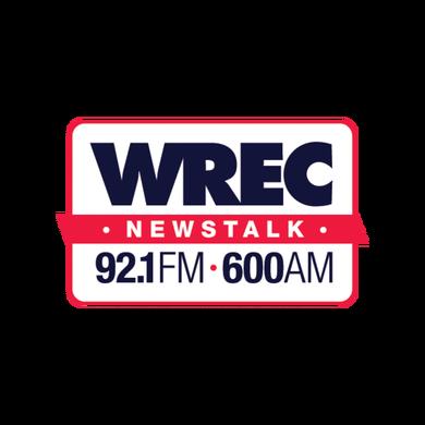 600 WREC logo