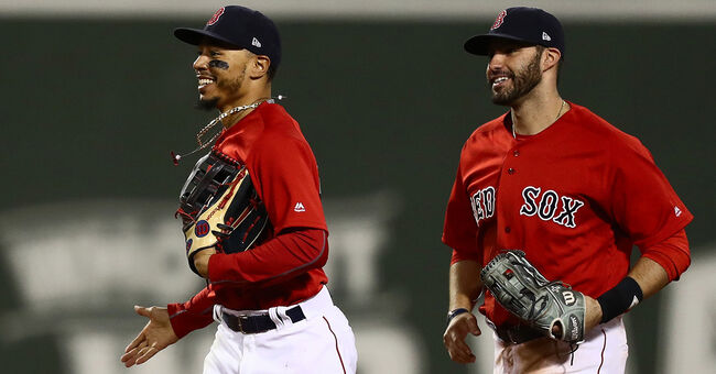 timeless design e4ec9 1d8fa Red Sox Mookie Betts, J.D. Martinez Voted All-Star Starters ...