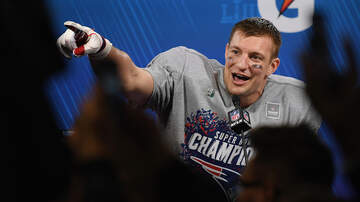 Super Bowl LIII - Rob Gronkowski Steps Up For Patriots, Still Mulling Retirement