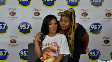 Beats By The Bay - K Michelle Meet and Greet Backstage at Beats By The Bay