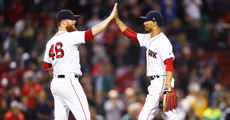 craig kimbrel boston red sox mlb mookie betts