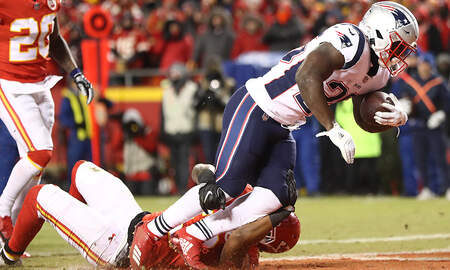 Boston Sports - AFC Championship Live Blog: Patriots 7, Chiefs 0 In 2nd Quarter
