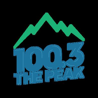 100.3 The Peak logo