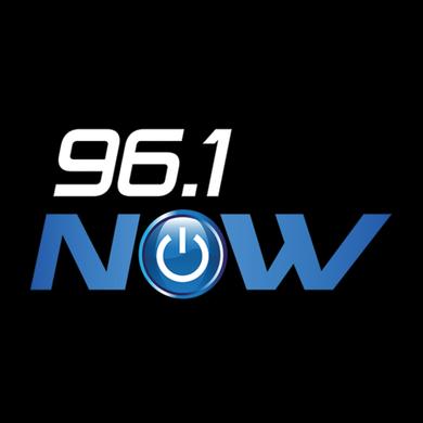 96.1 NOW logo
