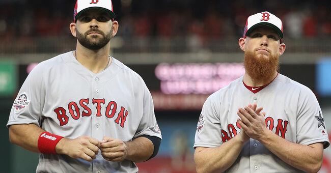 mitch moreland craig kimbrel boston red sox mlb baseball all-star game
