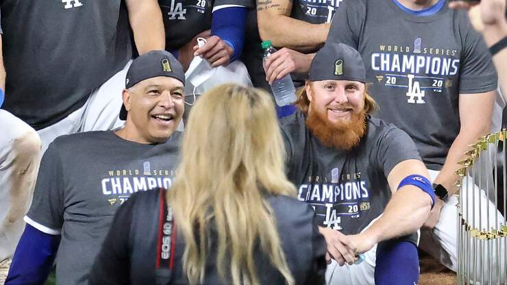 Dave Roberts Addresses Justin Turner's Actions after the World Series
