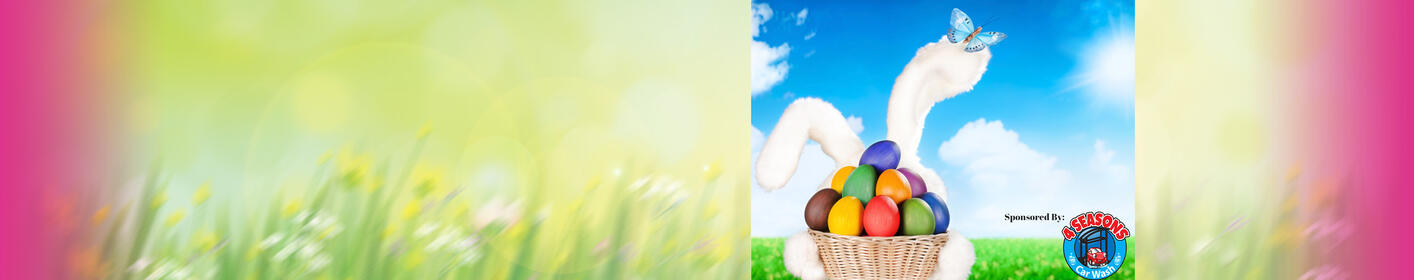You're invited to the iHeartMedia Easter Egg Hunt, Presented by 4 Seasons Express Car Wash