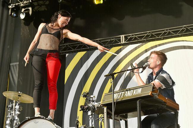 Matt and Kim (Getty Images)