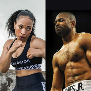 Natlyn Jones & Roy Jones Jr