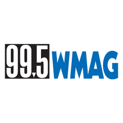 99.5 WMAG The Triad logo