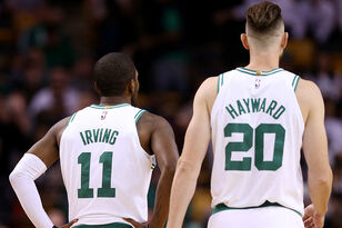 Rehabbing Celtics Irving, Hayward Should Be Fully Healthy In August