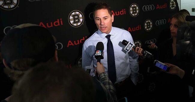 Bruins coach Bruce Cassidy boston nhl hockey