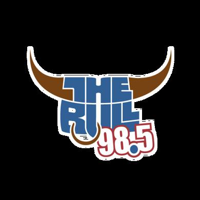 98.5 The Bull logo