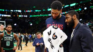 Boston Sports - Celtics Fans Show Love For Pelicans Superstar Anthony Davis
