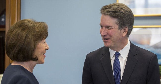 senator sen. susan collins brett kavanaugh supreme court