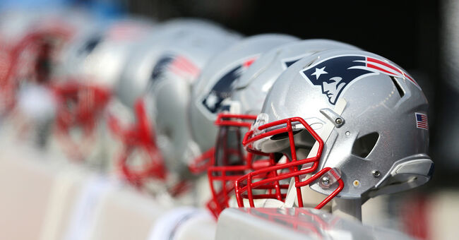 nfl patriots helmets football pats new england