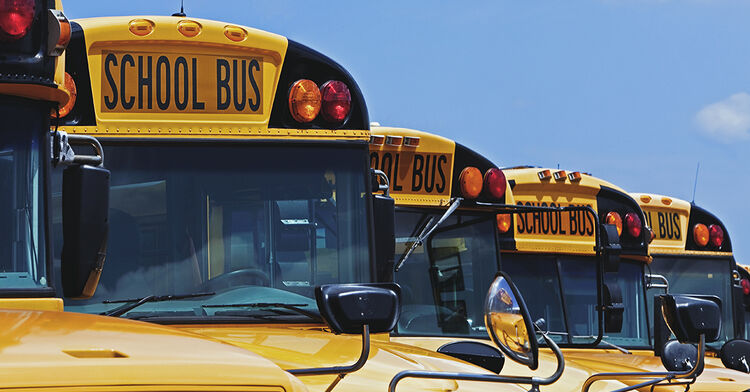 buses school bus generic