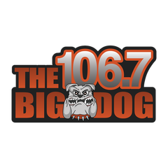 106.7 The Big Dog logo