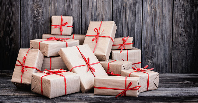 christmas packages presents gifts holiday