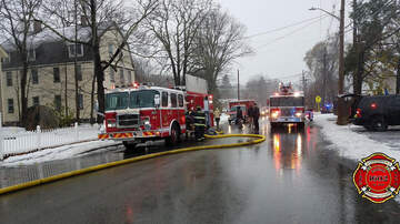 Local News - Two Teenagers Rescued From Rockland Fire