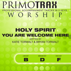 Listen Free to Primotrax Worship - Holy Spirit You Are Welcome Here