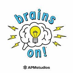 Brains On! podcast logo