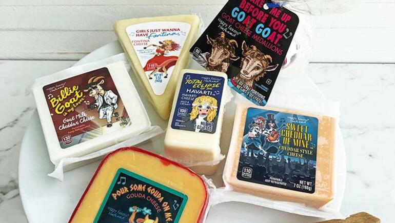Cheeses Pay Tribute To 80s Songs