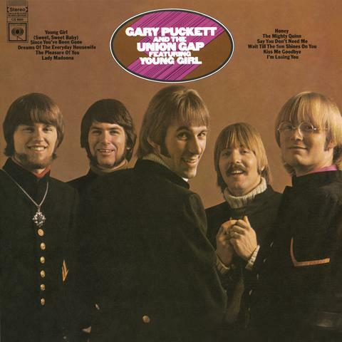 """Gary Puckett & The Union Gap Featuring """"Young Girl"""""""