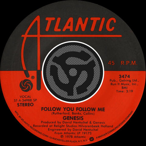 Follow You Follow Me (Single Version) / Inside & Out