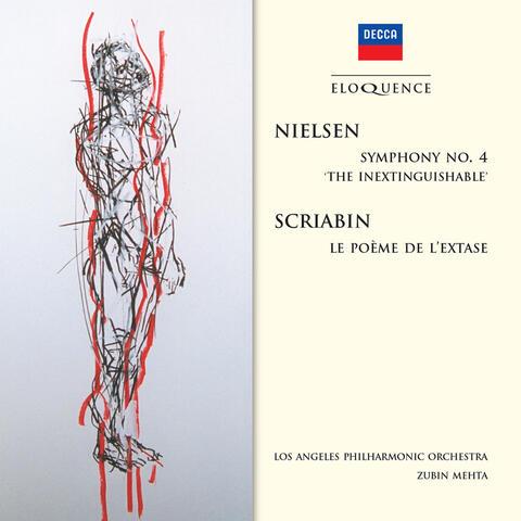 """Nielsen: Symphony No.4 - """"The Inextinguishable""""; Scriabin: Le  Poème de L'Extase"""