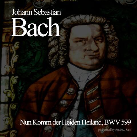 Nun Komm der Heiden Heiland, BWV 599