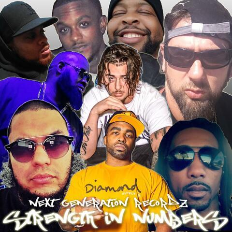 Strength in Numbers (feat. Daddy Alpha, Wicked One, Big Homie Poet, Kutthroat Kaution, J Int'l Doe, Glitch, Hyfa Tha Prospect & Hybreed EM-XVI)